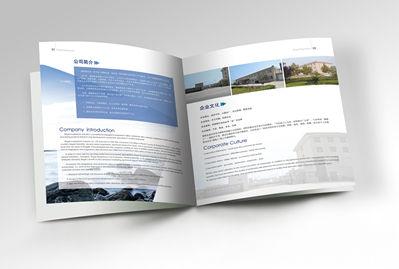 瑞格镁企业画册内页设计
